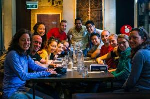recovery meal group shot