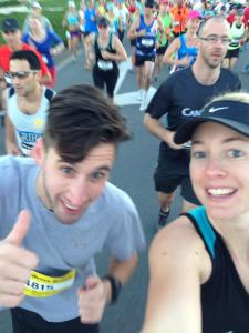 running with rob at the start