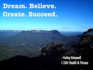Mt Solitary Dream Beieve Create Succeed