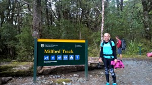Start of the Milford Track